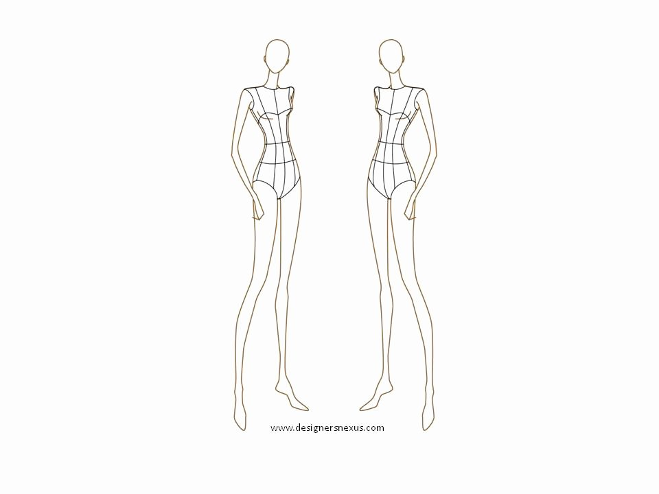 Fashion Designing Sketches Of Models Beautiful Sewtawdry Procrastination Burda Dress 110