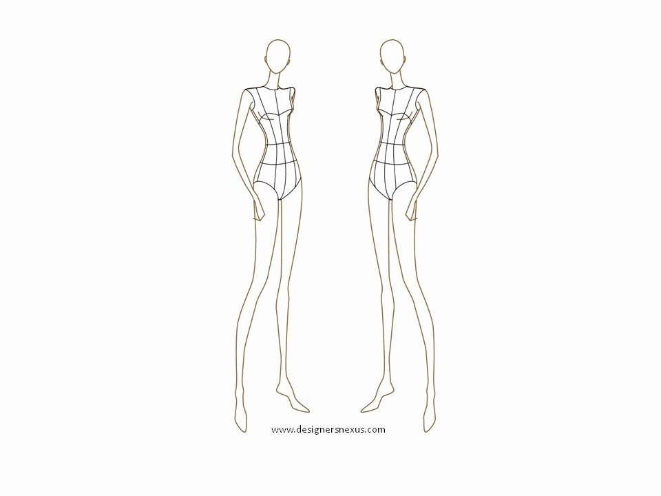 Fashion Designing Sketches Of Models Beautiful Sewtawdry Procrastination Burda Dress 110