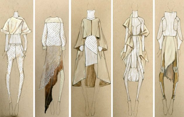 Fashion Designing Sketches Of Models Best Of Textiles and Fashion Design Sketchbooks 20 Inspirational Examples