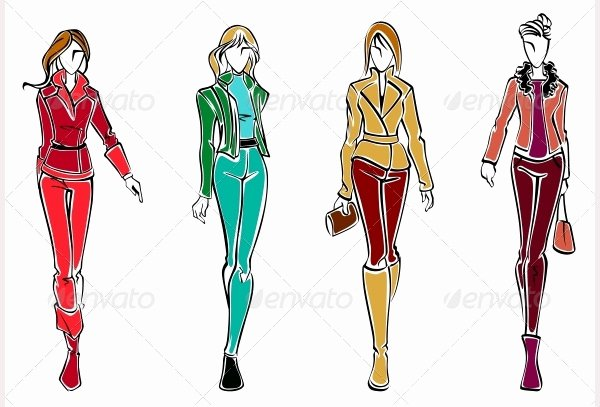 Fashion Designing Sketches Of Models Fresh 49 Best Fashion Design Sketches for Your Inspiration