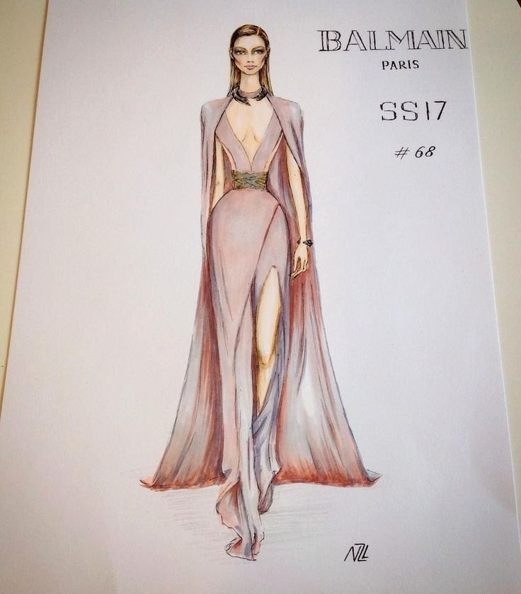 Fashion Designing Sketches Of Models Inspirational Fashion Illustration Fashion