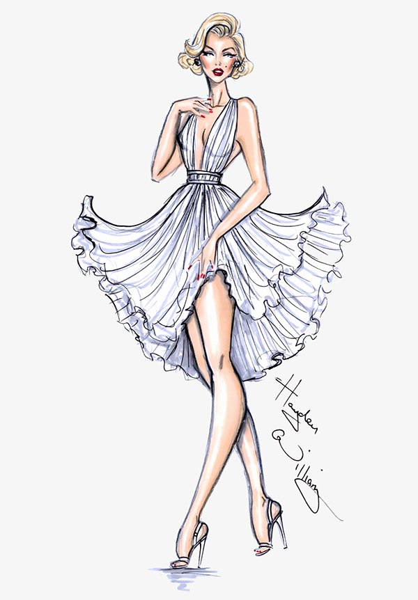 Fashion Designing Sketches Of Models Luxury 49 Best Fashion Design Sketches for Your Inspiration