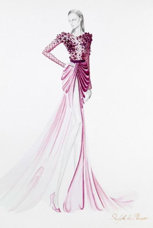 Fashion Designing Sketches Of Models Luxury Fashion Design Sketches by World S top Fashion Designers