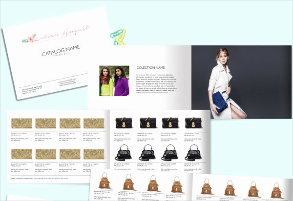 Fashion Line Sheet Template Awesome Fashion Catalog Templates 8 Free Psd Vector Ai Eps