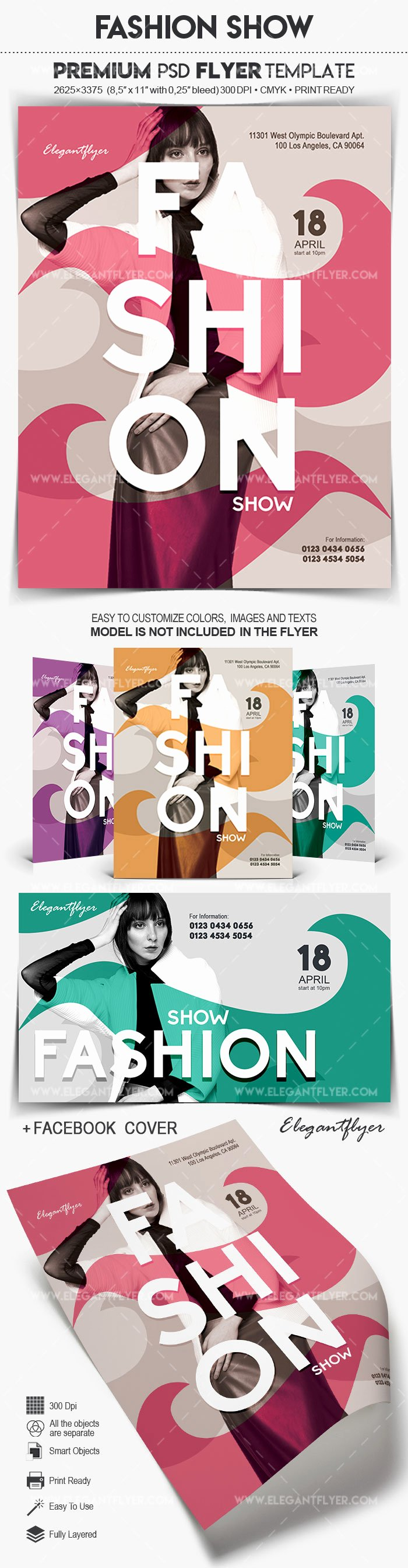 Fashion Show Flyer Template Best Of Fashion Show – Flyer Psd Template – by Elegantflyer