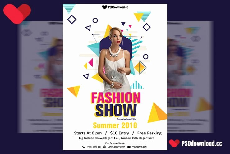 Fashion Show Flyer Template Free Awesome [get Free] Fashion Show Flyer Template
