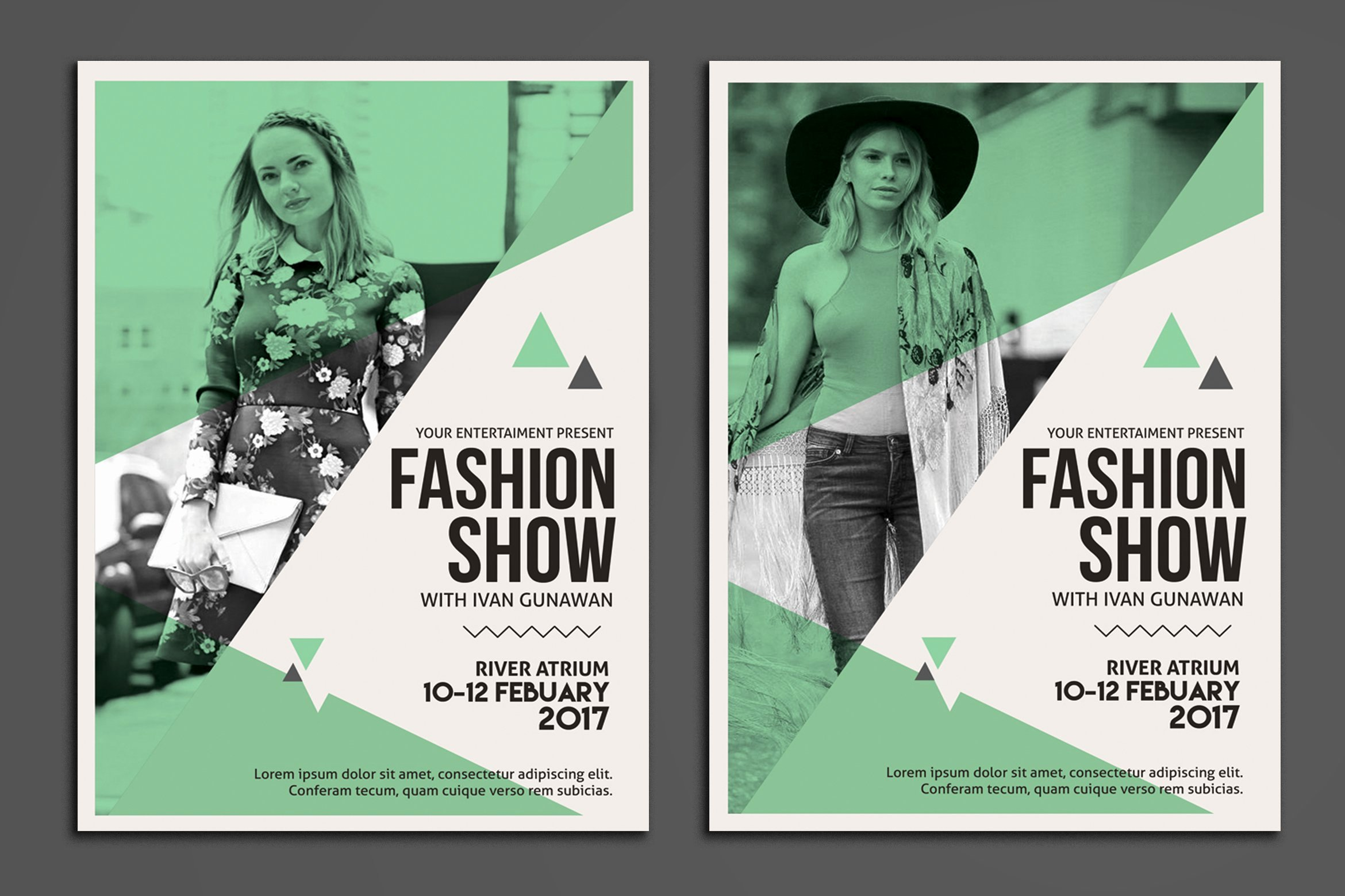 Fashion Show Flyer Template Free Best Of Fashion Show Flyer Flyer Templates Creative Market