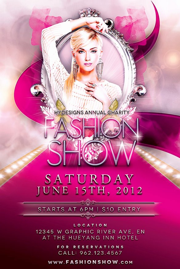 Fashion Show Flyer Template Free Elegant 49 event Flyer Templates Psd Ai Word Eps Vector format