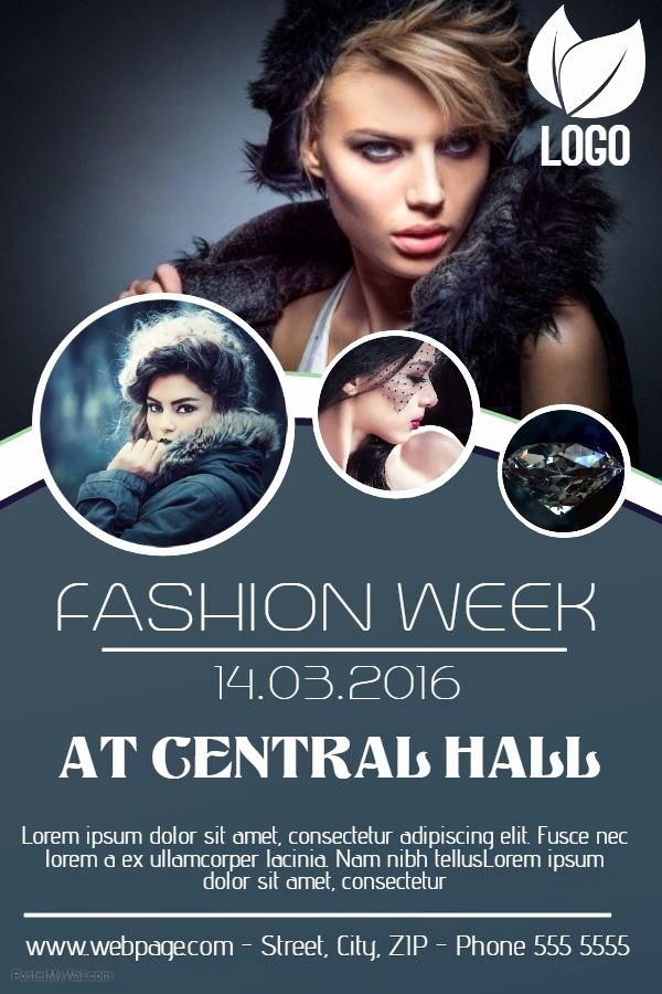Fashion Show Flyer Template Free Inspirational 55 Best event Flyer Templates Images On Pinterest