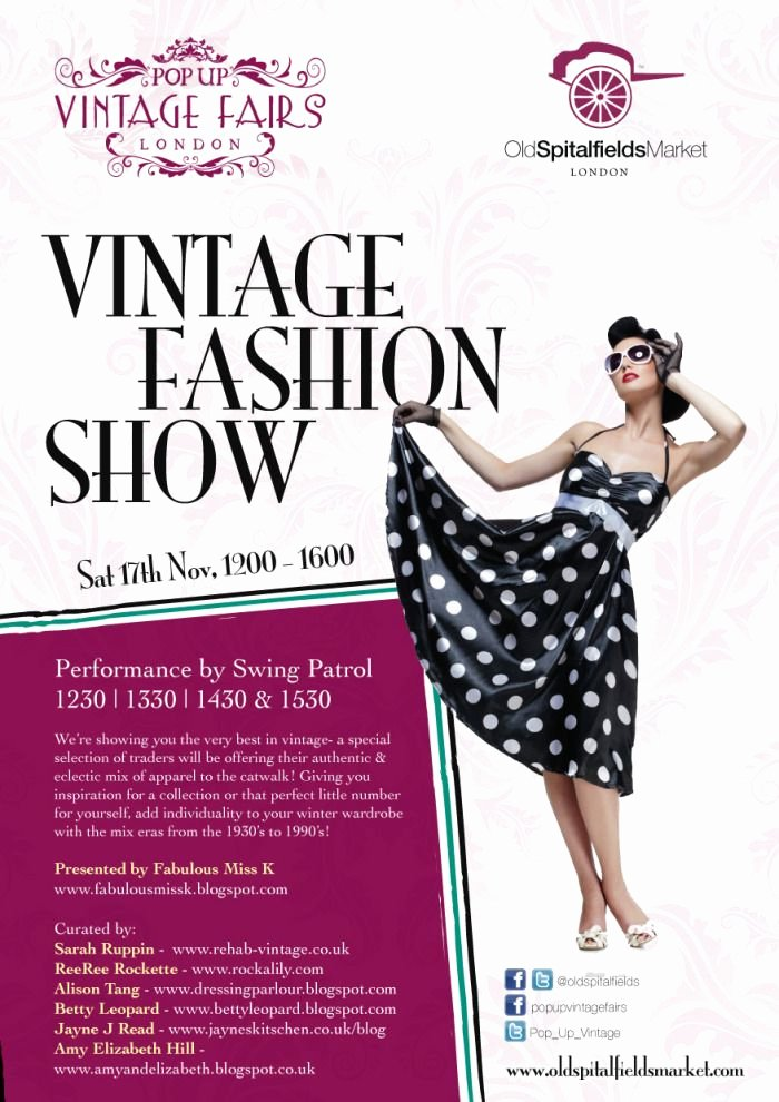 Fashion Show Flyer Template Free New 17 Best Images About event Fall Fashion Show On Pinterest