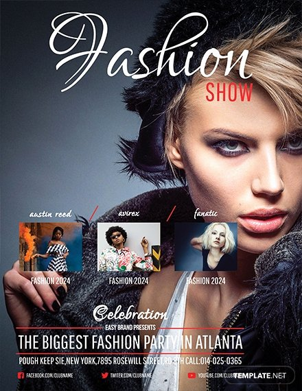 Fashion Show Flyer Template Free New Free Talent Show Flyer Template Download 641 Flyers In Psd Illustrator Word Publisher