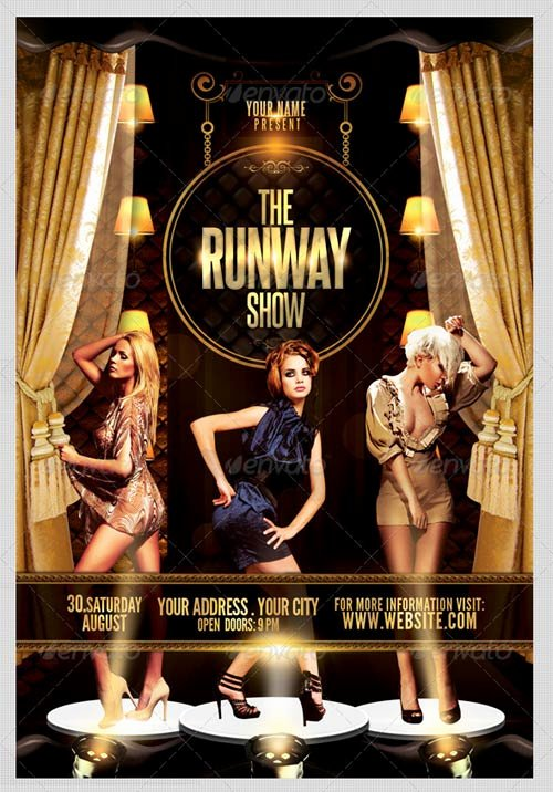 Fashion Show Flyer Template Free New Graphicriver the Runway Show Flyer Template