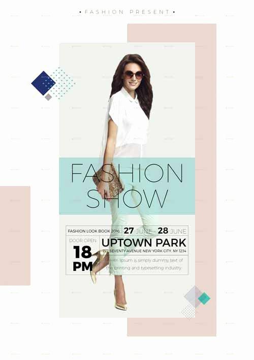 Fashion Show Flyer Template Fresh Ffflyer