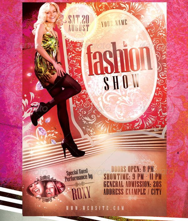 Fashion Show Flyer Template Inspirational 16 Fashion Show Flyer Templates In Word Psd Ai Eps Vector format
