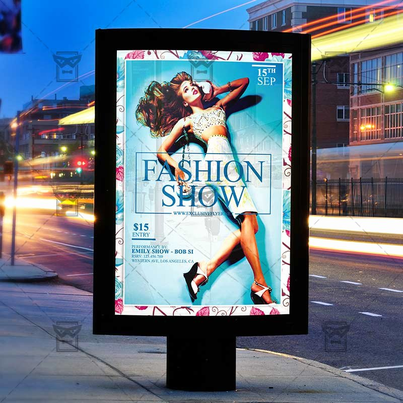 Fashion Show Flyer Template Inspirational Fashion Show – Premium Flyer Template Instagram Size Flyer Exclsiveflyer