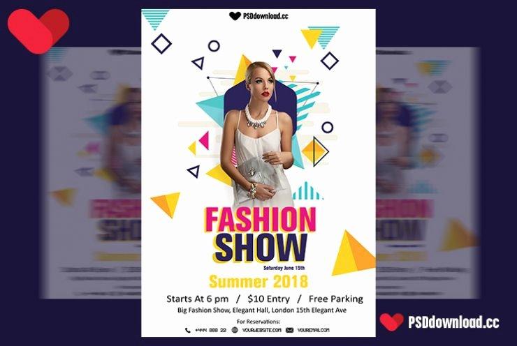Fashion Show Flyer Template Unique [get Free] Fashion Show Flyer Template