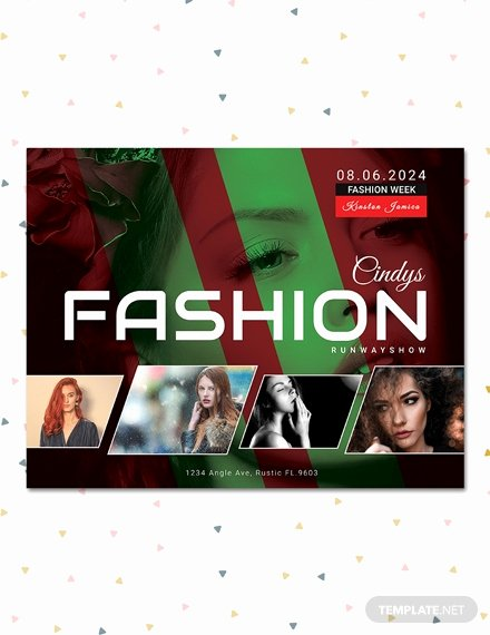 Fashion Show Flyers Template Free Best Of 16 Fashion Show Flyer Templates In Word Psd Ai Eps Vector format