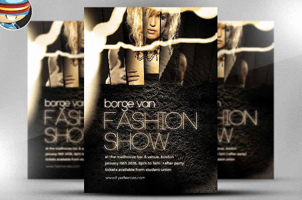 Fashion Show Flyers Template Free Elegant 12 Fashion event Flyers Printable Psd Ai Vector Eps format Download
