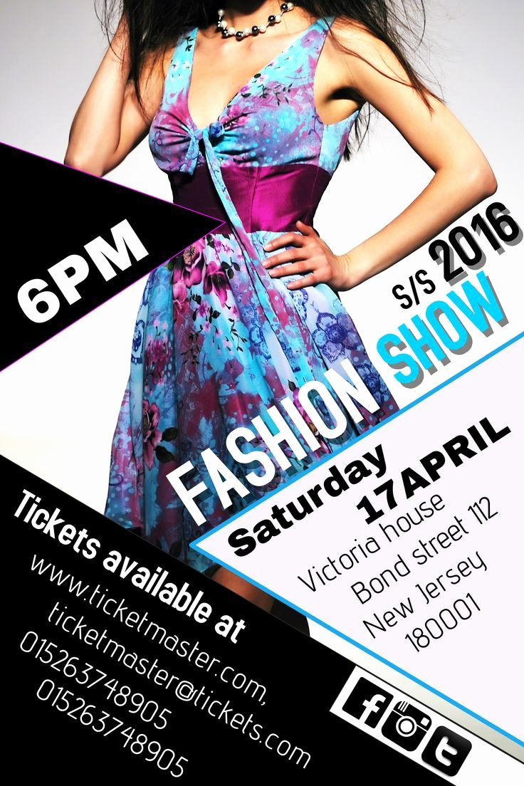 Fashion Show Flyers Template Free Elegant 23 Best Beauty Salon and Fashion Posters Images On Pinterest