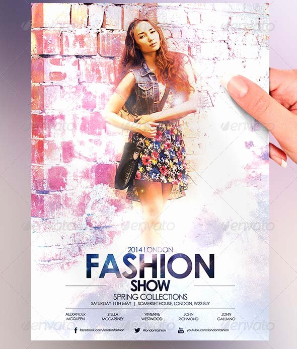 Fashion Show Flyers Template Free Luxury 38 Psd Flyers for Fashion Show & Promo – Desiznworld