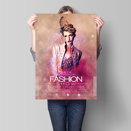 Fashion Show Flyers Template Free Luxury London Fashion Show Flyer Template Download