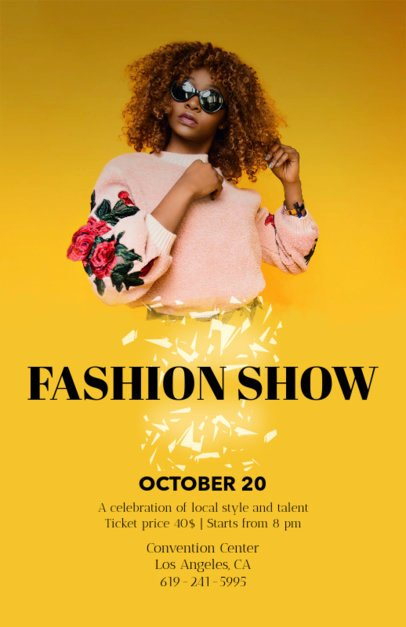 Fashion Show Flyers Templates Awesome Flyer Templates for Every event
