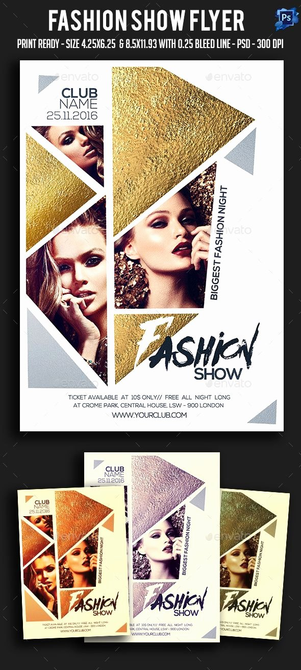 Fashion Show Flyers Templates Beautiful 1000 Ideas About Poster Presentation Template On