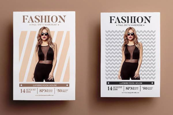 Fashion Show Flyers Templates Beautiful 16 Fashion Show Flyer Templates In Word Psd Ai Eps