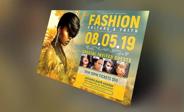 Fashion Show Flyers Templates Best Of 16 Fashion Show Flyer Templates In Word Psd Ai Eps
