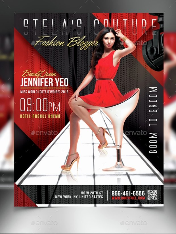Fashion Show Flyers Templates Best Of 22 Awesome Fashion Flyer Psd Designs