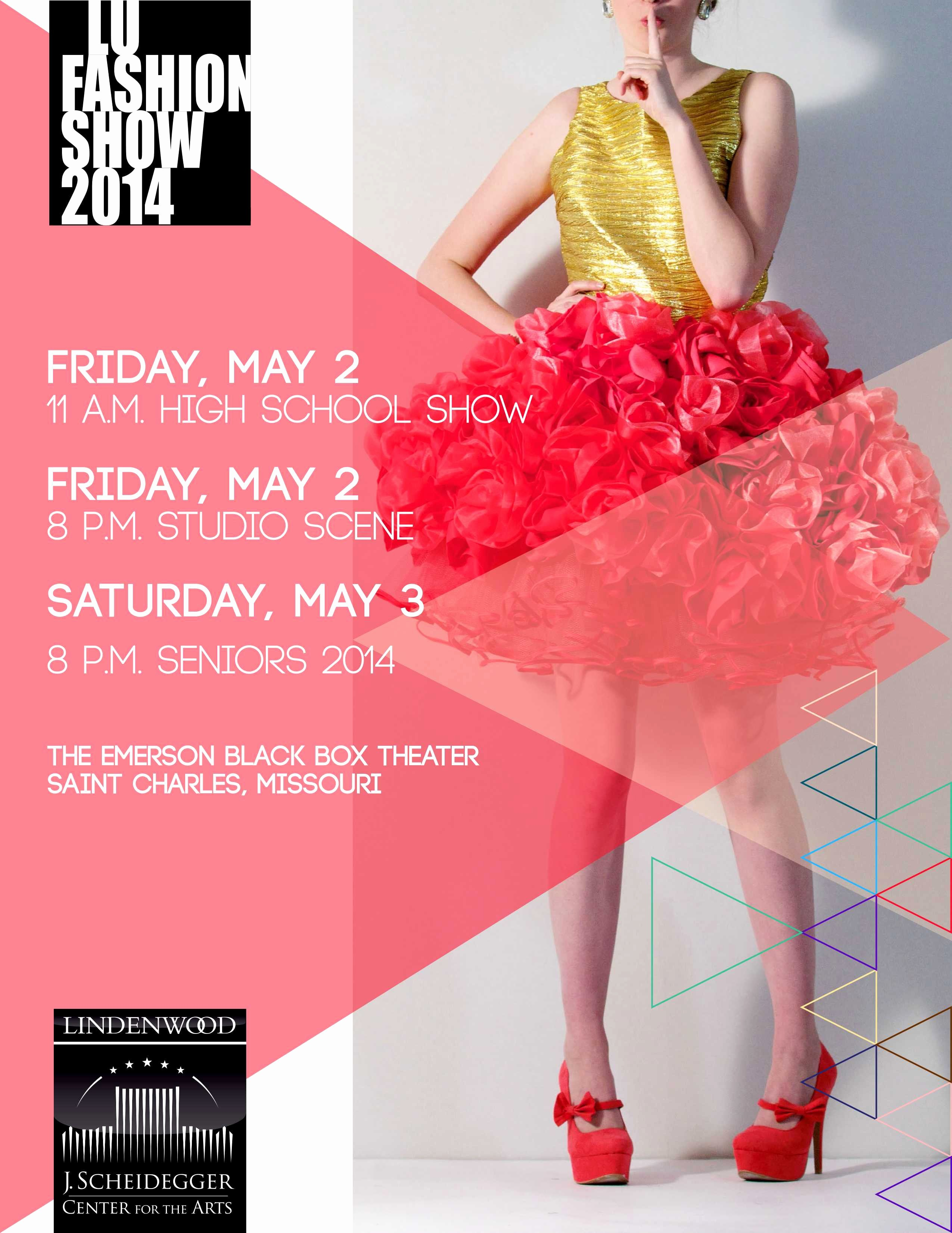 Fashion Show Flyers Templates Inspirational 17th Annual Student Fashion Show Lindenlink