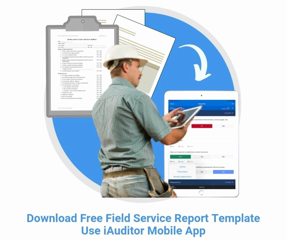 Field Service Report Template Best Of Field Service Report Templates top 3 [free Download]