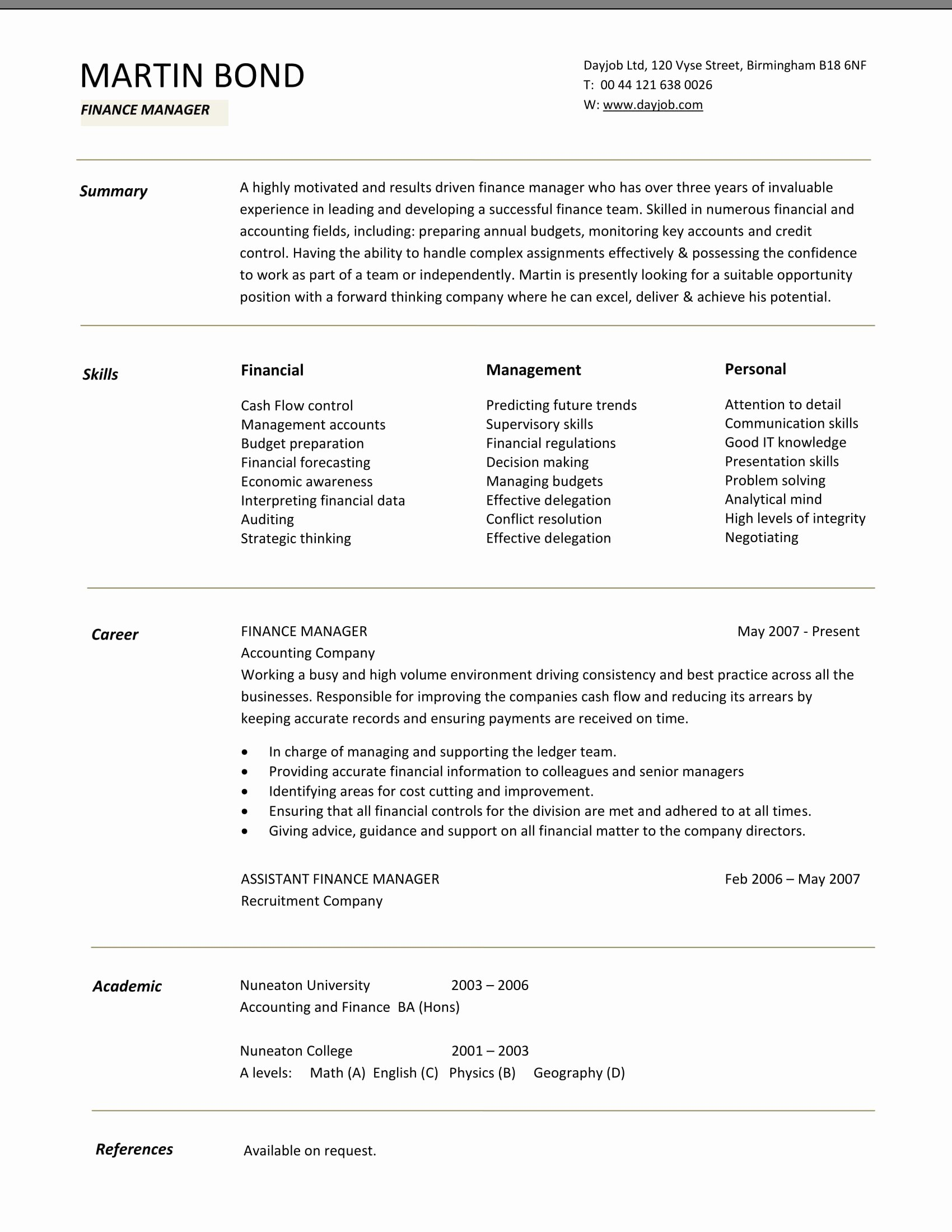 Finance Resume Template Word Beautiful 24 Best Finance Resume Sample Templates Wisestep