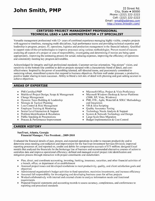Finance Resume Template Word New A Professional Resume Template for A Financial Manager Want It Download