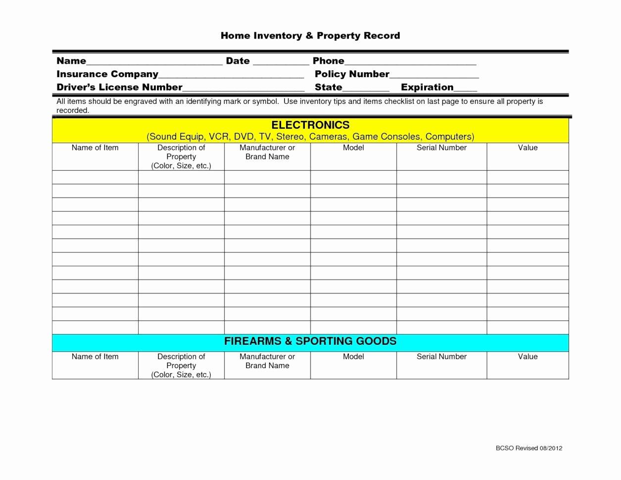 Firearm Bill Of Sale Florida Elegant Firearms Inventory Spreadsheet Google Spreadshee Firearms Inventory Spreadsheet