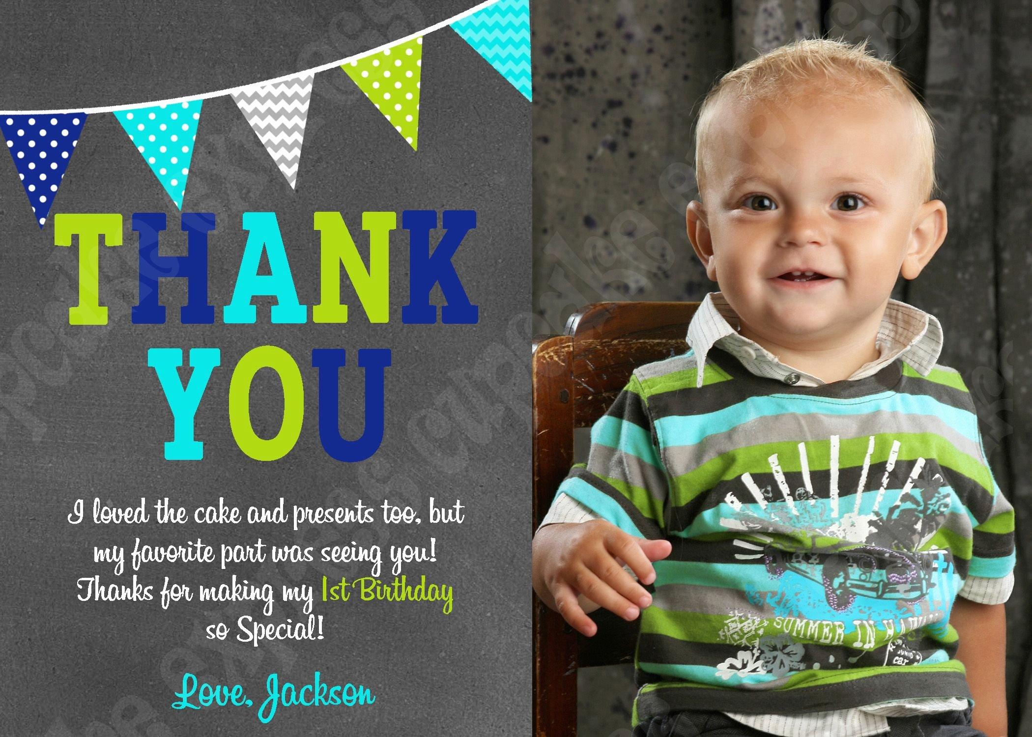 First Birthday Thank You Cards Awesome Little Man Mustache Boys First Birthday Thank You Card Lime Green Navy Blue Grey Chevron Photo