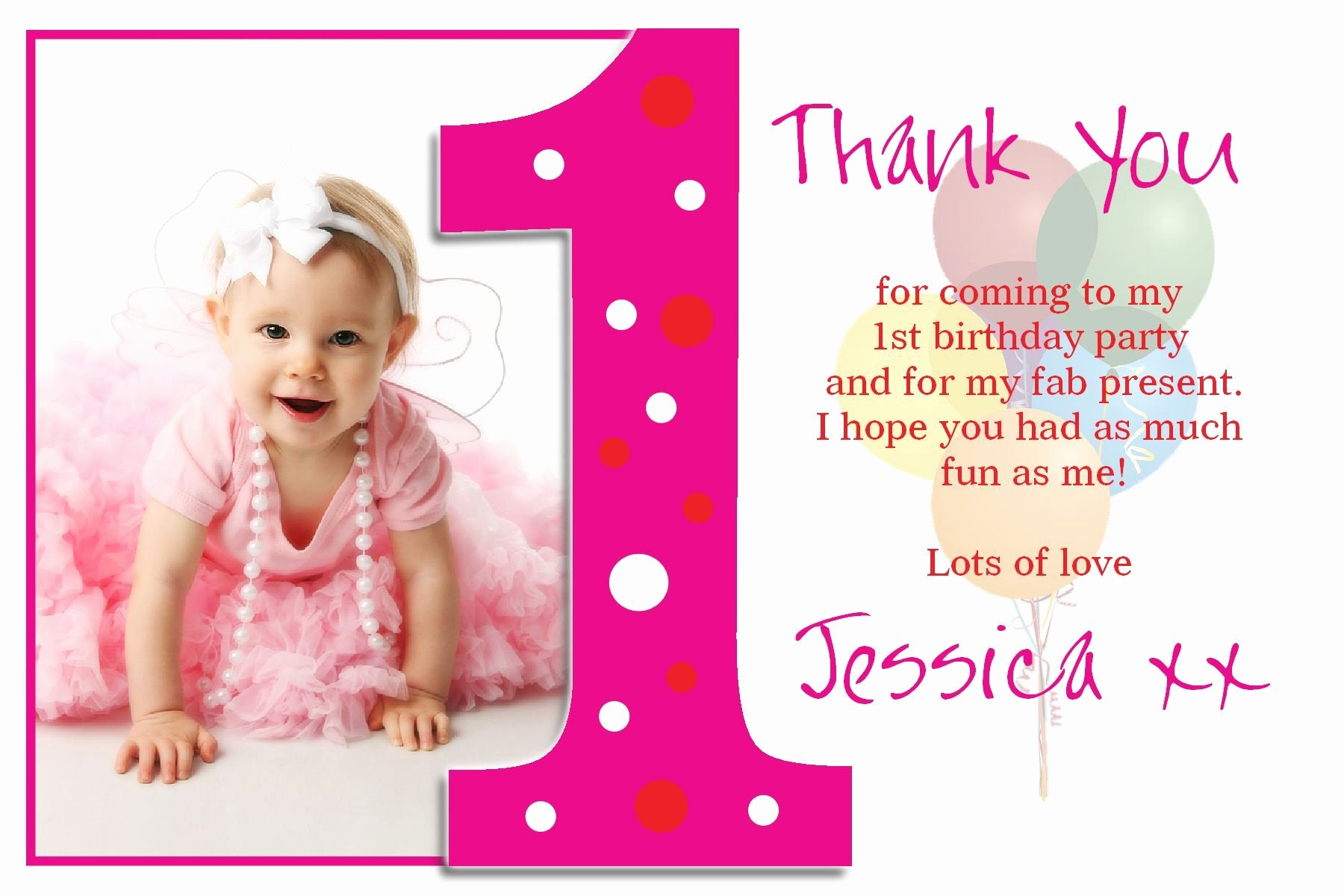 First Birthday Thank You Cards Inspirational Personalised Christening Thank You Cards Personalised Baptism Thank Piper Layne