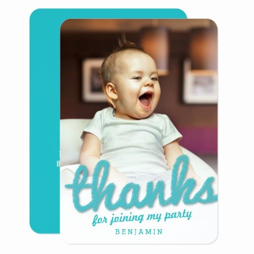 First Birthday Thank You Cards Luxury Big Sketch Boy Thank You 1st Birthday Card