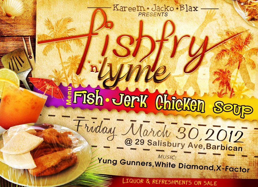 Fish Fry Flyer Template Lovely Free Fish Fry Flyer Template