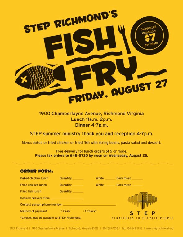 Fish Fry Flyer Template Luxury Fish and Chicken Fry On Friday 8 27 $7 Donation