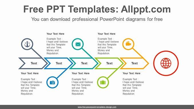 Fishbone Diagram Template Doc Inspirational Fishbone Arrow Powerpoint Diagram Template
