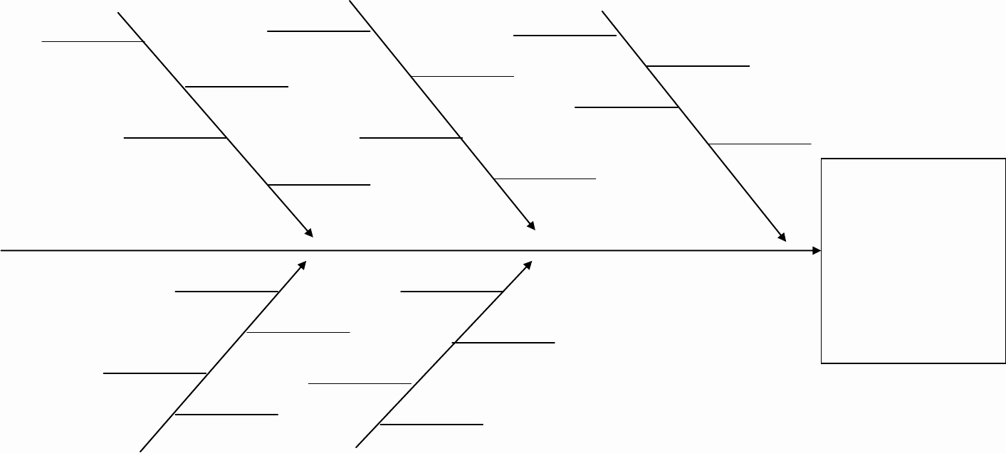 Fishbone Diagram Template Doc Lovely Fishbone Diagram In Word and Pdf formats