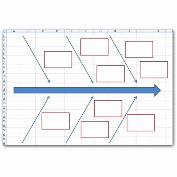 Fishbone Diagram Template Doc Unique How to Create A Fishbone Diagram In Microsoft Excel 2007