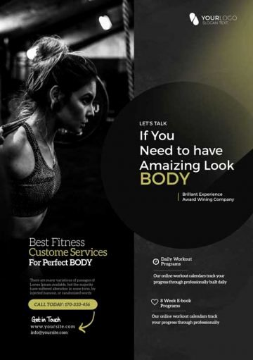 Fitness Flyer Template Free Best Of Download Free Fitness Gym Flyer Psd Templates for Shop