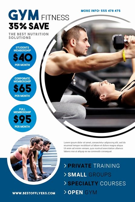 Fitness Flyer Template Free Best Of Fitness Gym Free Flyer Template