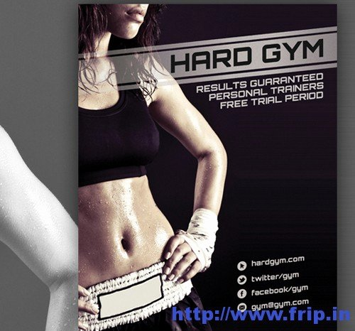 Fitness Flyer Template Free Unique 50 Best Spa Fitness & Hair Salon Brochure Template