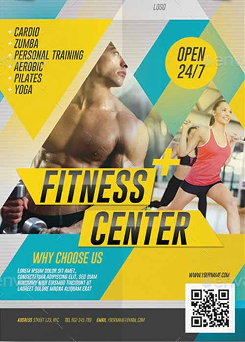 Fitness Flyer Template Free Unique Ffflyer