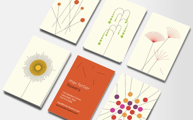 Florist Business Cards Design Awesome Floral Business Cards for Florists