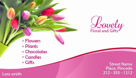 Florist Business Cards Design Beautiful 2x3 5 Custom Floral and Gifts Business Card Magnets 20 Mil
