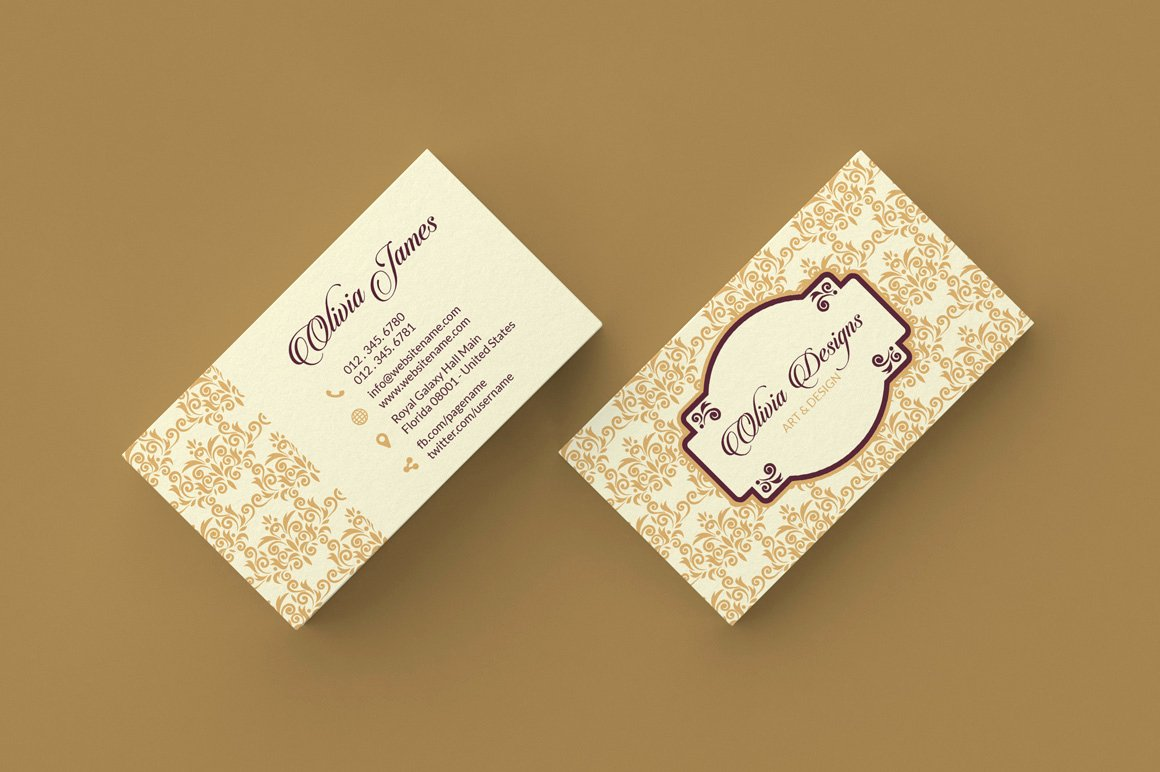Florist Business Cards Design Beautiful 9 Simple Minimal Business Cards Graphic Pick